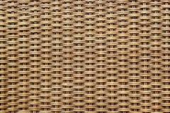 被编织的木头 免版税库存照片