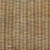 被编织的木头 库存图片