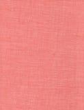 被编织的桃红色纱织品 免版税库存照片