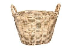 被编织的篮子。 库存图片