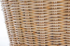 被编织的篮子 库存照片