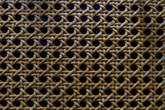 被编织的纹理木头 免版税图库摄影