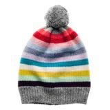 被编织的羊毛帽子 库存图片