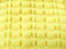 被编织的羊毛 免版税库存图片