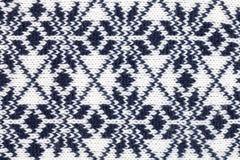 被编织的织品布料装饰品 免版税库存照片