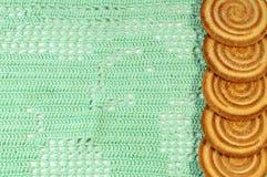 被编织的织品纹理 图库摄影