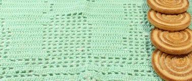被编织的织品纹理 库存照片