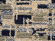 被编织的织品羊毛纹理关闭作为背景 免版税库存图片