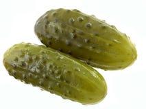 被腌制的黄瓜 免版税库存照片