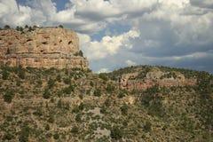 被腐蚀的砂岩形成- Holbrook,亚利桑那 免版税库存图片