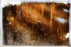 被腐蚀的金属纹理 免版税图库摄影
