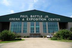 被膜竞技场和博览会中心,被膜密西西比 免版税库存图片