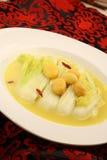 被蒸的圆白菜汉语 库存照片