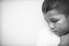 被虐待的子项 免版税图库摄影