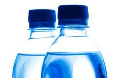 被装瓶的水 免版税库存照片