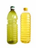被装瓶的油 免版税库存照片