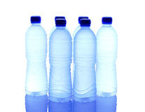 被装瓶的矿泉水IX 免版税图库摄影