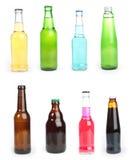 被装瓶的饮料 库存图片