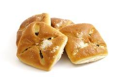 被装载的小圆面包结果实堵塞 库存图片