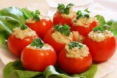 被装载的蕃茄 免版税图库摄影