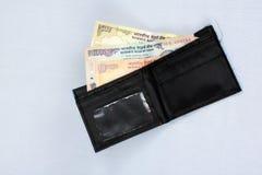 被装载的钱包 免版税图库摄影