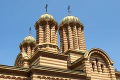 被覆以圆顶的大教堂详细资料 免版税库存照片
