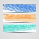 被设置的五颜六色的被绘的倒栽跳水 图库摄影