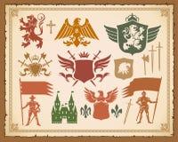 被设置的冠纹章学骑士狮子