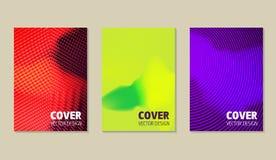 被设置的可变的颜色盖子 五颜六色的构成 时髦最小 库存照片