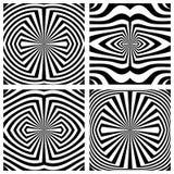 被设置的抽象样式 线路纹理 库存图片