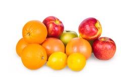被设置的果子 库存照片