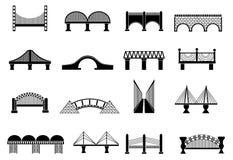 被设置的桥梁象 免版税库存图片