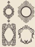 被设置的装饰品 免版税库存图片