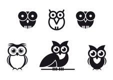 被设计的图象猫头鹰 库存照片