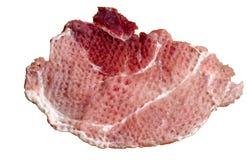 被软化的牛肉片式 免版税库存图片