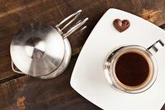 被过滤的咖啡杯 免版税图库摄影