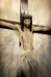 被迫害的耶稣基督 免版税库存照片
