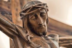 被迫害的耶稣 免版税库存照片
