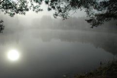 被迷惑的湖 免版税库存图片