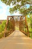 被遮盖的桥历史的洛克维尔犹他 免版税库存图片
