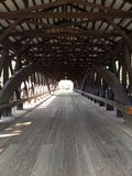 被遮盖的桥汇集 免版税库存照片