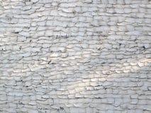 被遮蔽的难看的东西被仿造的灰泥墙壁 库存照片