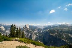 2007年被采取的加利福尼亚1月国家公园美国优胜美地 免版税库存照片