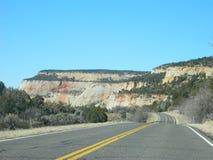 被采取的曲拱沙漠横向国家公园犹他 免版税库存照片