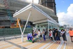 被采取的2010第25大道香港11月照片星形 免版税图库摄影