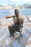 被采取的2010第25大道香港11月照片星形 库存图片
