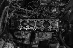 被重建的引擎 免版税图库摄影