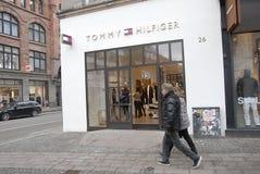 被重建的汤米・席尔菲格商店 免版税库存图片