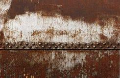 被铆牢的储水池联合老铁路 免版税库存图片