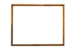 被镀的木头,白色背景 免版税库存照片
